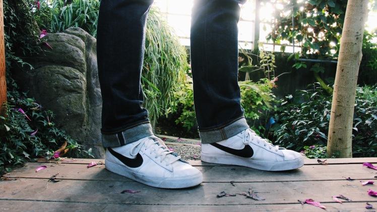 White Nikes and Selvedge